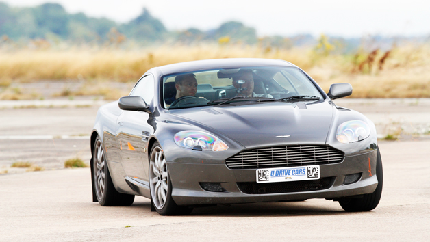 Junior Aston Martin Versus Ferrari Driving