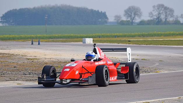 Six Lap Formula Renault Race Car Experience For One Person