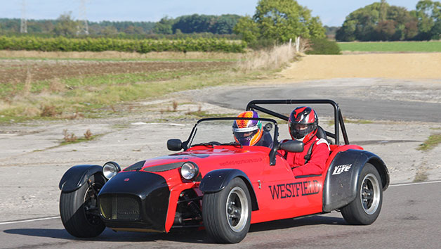 Westfield Sportscar Six Lap Driving Thrill For Two