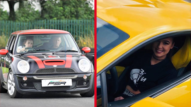 30 Minute Junior Driver Training In A Mini Cooper With A Three Mile Supercar Blast For One