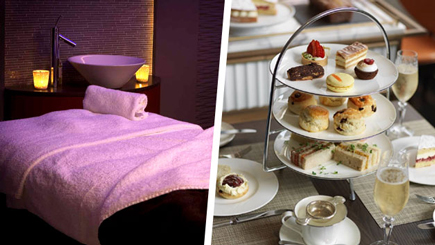 Luxury Spa Day and Afternoon Tea with Bubbles at The Athenaeum Hotel