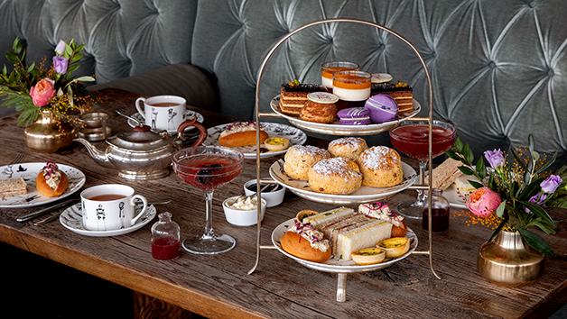 Afternoon Tea With Cocktail Each At Swan Bar And Restaurant For Two