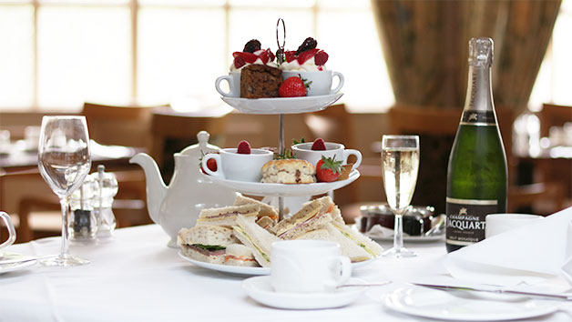 Afternoon Tea For Two At Hadlow Manor Hotel