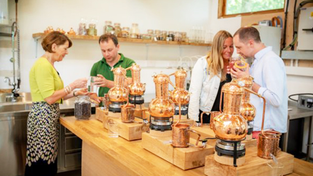 Gin Making Workshop For Two At The Devon Distillery