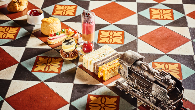 Traditional Afternoon Tea At The Hansom In 5* St. Pancras Renaissance Hotel For Two