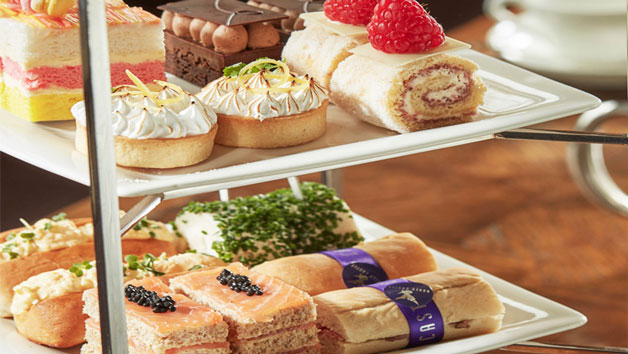 Afternoon Tea With Bottomless Fiz Or G&t For Two At Harrys Bar And Cafe