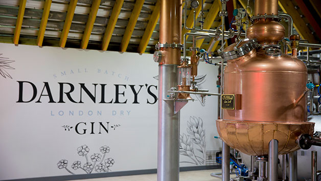 Buy Gin Distillery Tour with Lunch at Darnley's Gin Distillery for Two
