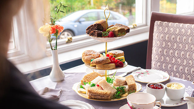 Buy Afternoon Tea with a Gin and Tonic for Two at Manor Hotel Exmouth