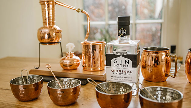 Buy Gin Tasting and Tour with a Savoury Sharing Board at The Gin Bothy for Two