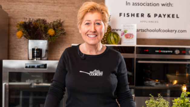 60 Minute Live Online Cookery Class With Ann At The Smart School Of Cookery For One