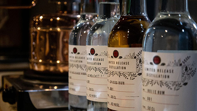 Buy Make Your Own Gin or Rum at The Spirit of Wales Distillery for Two People