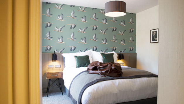 Overnight Deluxe Gourmet Escape at The Old Cock Inn for Two