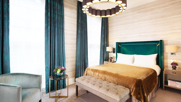 One Night Stay with Breakfast at the Luxury 5* Flemings Mayfair Hotel for Two