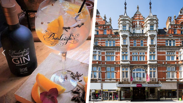 Buy Overnight Stay at Mercure Leicester The Grand Hotel with a Gin Masterclass at 45 Gin School