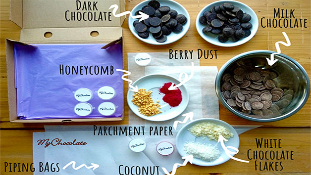 Online Chocolate Truffle Making Webinar And Truffle Kit For Four With My Chocolate