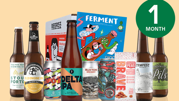 Beer52 One Month Eight Pack Of Beer Subscription For One