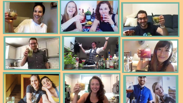 Buy Bespoke Gin Cocktail Online Masterclass with Beyond the Bar for Ten
