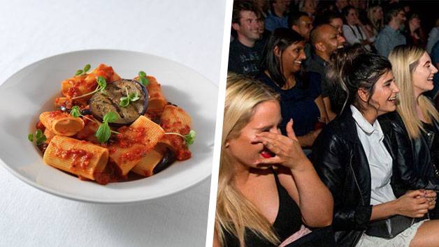 Buy Comedy Show and Three Course Meal with Wine for Two at Prezzo