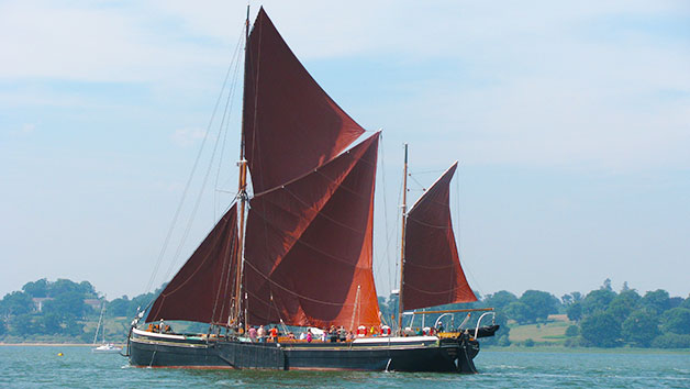 Thames Sailing Barge Cruise With Lunch In Essex For Two