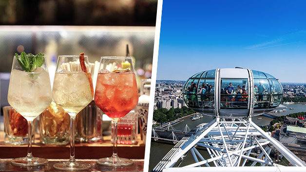 Cocktail Masterclass At Gordon Ramsays Union Street Cafe And London Eye For Two