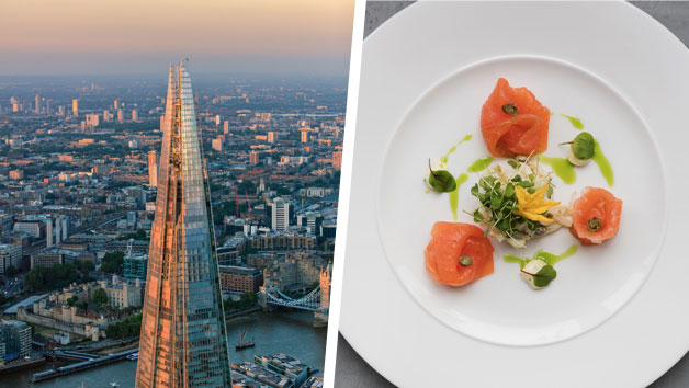 Bateaux Deluxe Dinner Cruise And The View From The Shard For Two