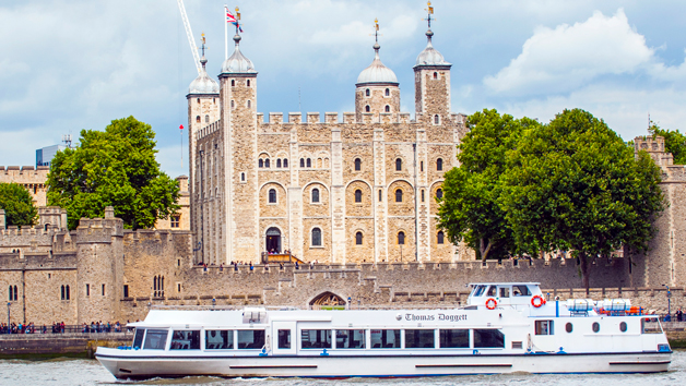 Westminster Thames Sightseeing Cruise For Two  Return Ticket