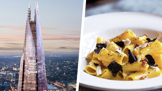Buy The View from The Shard and Meal for Two at Gordon Ramsay's Union Street Cafe