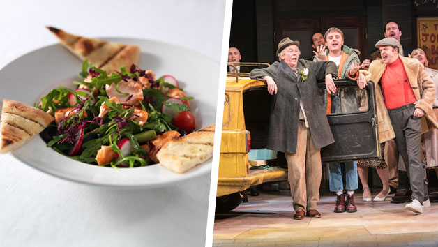 Only Fools And Horses Theatre Tickets And A Three Course Meal With Wine For Two At Prezo