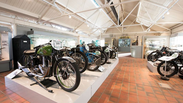 Brooklands Museum Entry  Concorde Experience And Lunch Or Cream Tea For Two