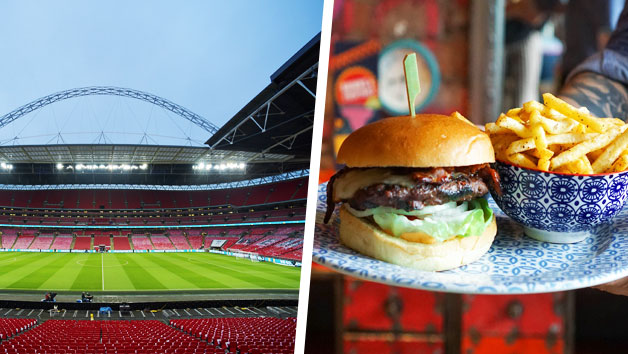 Wembley Stadium Tour With Three Course Meal At Cabana Wembley For Two