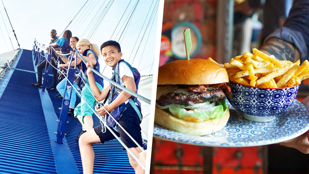 Up At The O2 Experience With Three Course Meal At Cabana O2 For Two