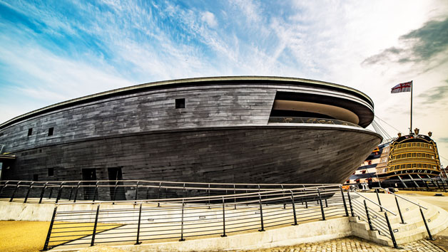 Vip Museum Guided Tour With Sparkling Afternoon Tea At Mary Rose Museum For Two