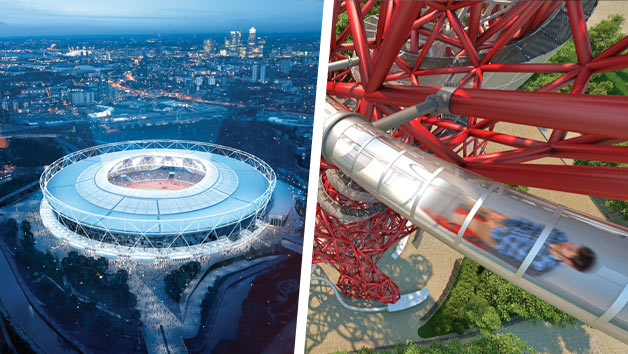 London Stadium Tour And The Slide At The Arcelormittal Orbit For Two