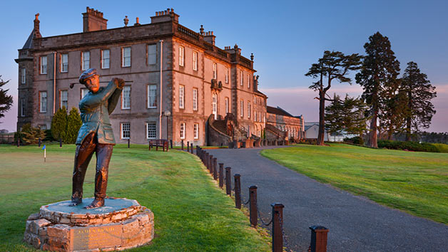 18 Hole Round Of Golf With An Afternoon Tea For Two At Dalmahoy Hotel And Country Club