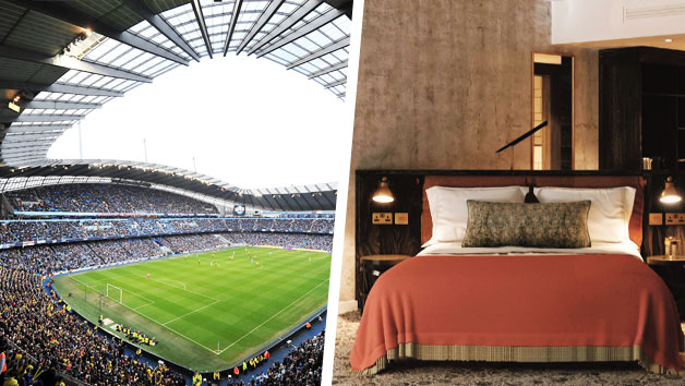 Overnight Break At Hotel Brooklyn And Manchester City Etihad Stadium Tour For Two
