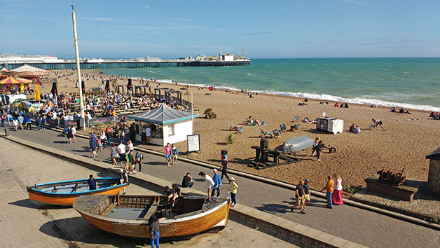 Running And Dancing Tour In Brighton For Two Adults And Two Children
