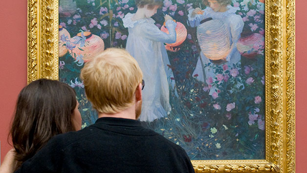 Private Tour Of Tate Gallery For Two With Onsite Three Course Dinner And Champagne
