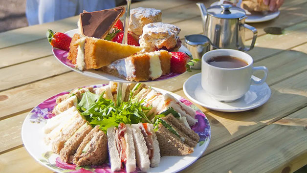 Entry To Barnsdale Gardens And An Afternoon Tea For Two