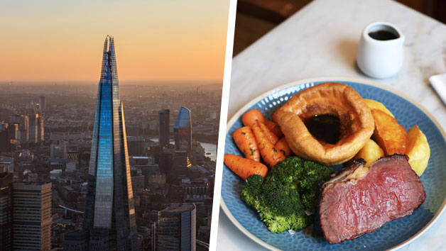 Buy The View from The Shard and Sunday Roast at a Gordon Ramsay Restaurant for Two