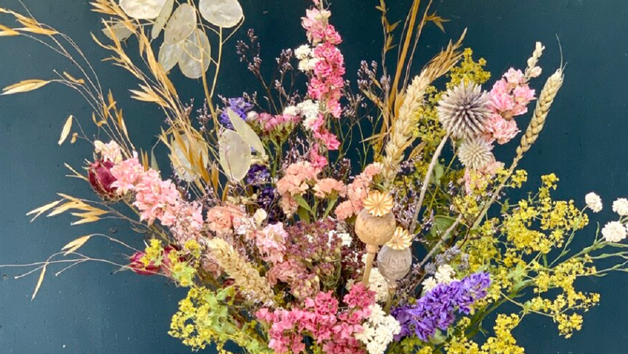 The Art Of Dried Flowers: A Hand Tied Bouquet Workshop For Two People