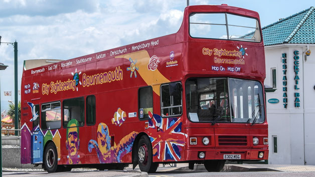 24 Hour Family Bus Pass For City Sightseeing Bournemouth
