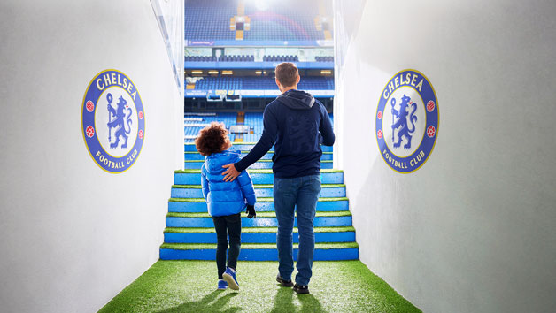 Classic Stadium Tour Of Chelsea FC Stamford Bridge For One Adult And One Child