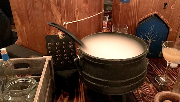 An Interactive Potion Making Cocktail Class For Two
