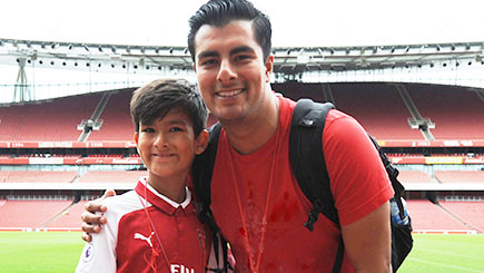 Adult and Child Tour of Arsenal Football Club's Emirates Stadium