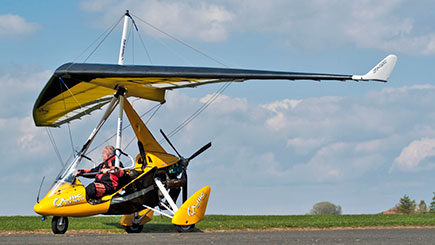60 Minute Light Aircraft Flight In Wales