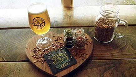 Brewery Day and Beer Tasting at Sadler's Brewery, West Midlands
