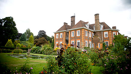 Overnight Escape with Dinner for Two at Barnett Hill, Surrey