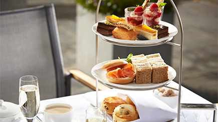 Champagne Afternoon Tea for Two at Barnett Hill, Surrey