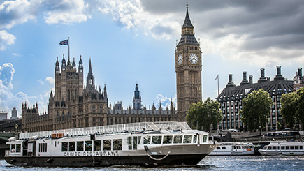 Bateaux London Thames Sunday Lunch Jaz Cruise
