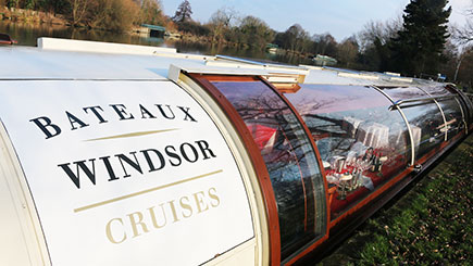 Bateaux Windsor Thames Lunch Cruise for Two
